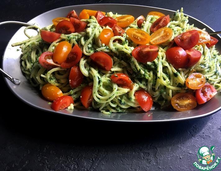 Рецепт: Паста со шпинатом