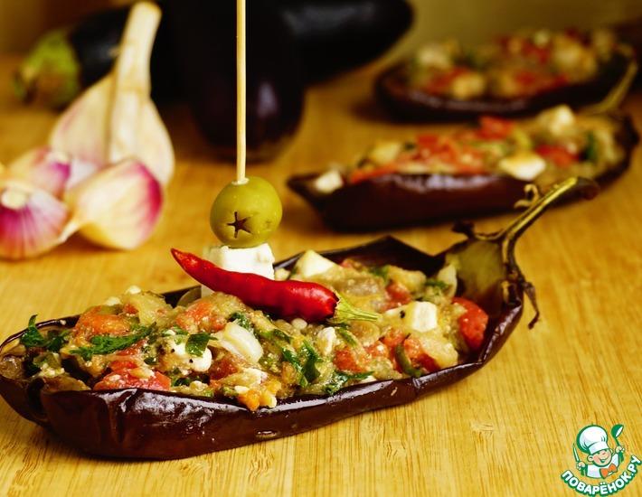 Рецепт: Греческая закуска Мелидзана