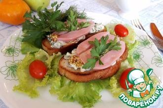 бутерброды с роллтоном рецепт