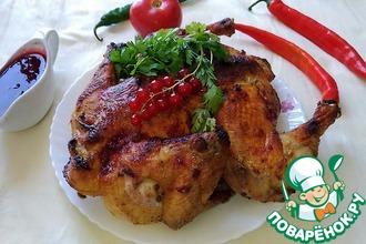 Рецепт: Курица Просто объедение