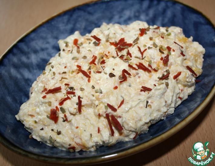 Рецепт: Закуска из перца и сыра фета