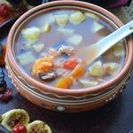 Суп с сухофруктами