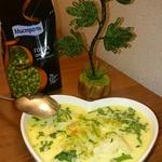 Молочный суп с горохом