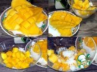 Десерт из манго и риса ингредиенты