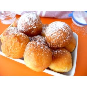 Нежные пончики на твороге