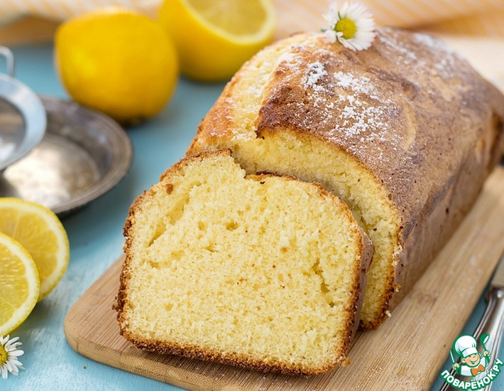Рецепт: Лимонный пирог Дырчатый