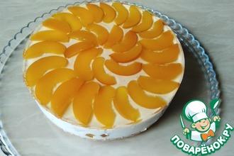 Рецепт: Творожный торт без выпечки