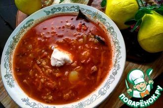 Рецепт: Суп по-веракрусски с консервами