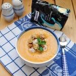 Суп-пюре с тыквой и фрикадельками