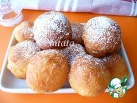 Нежные пончики на твороге ингредиенты