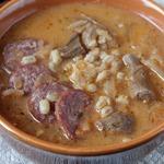 Грибной суп с квашеной капустой
