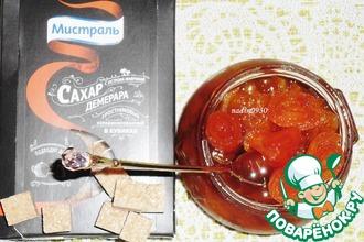 Рецепт: Варенье из мандаринов и тыквы
