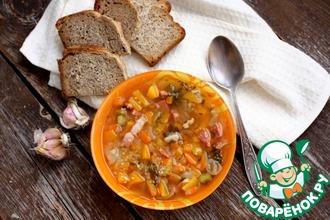 Рецепт: Быстрый суп с кускусом