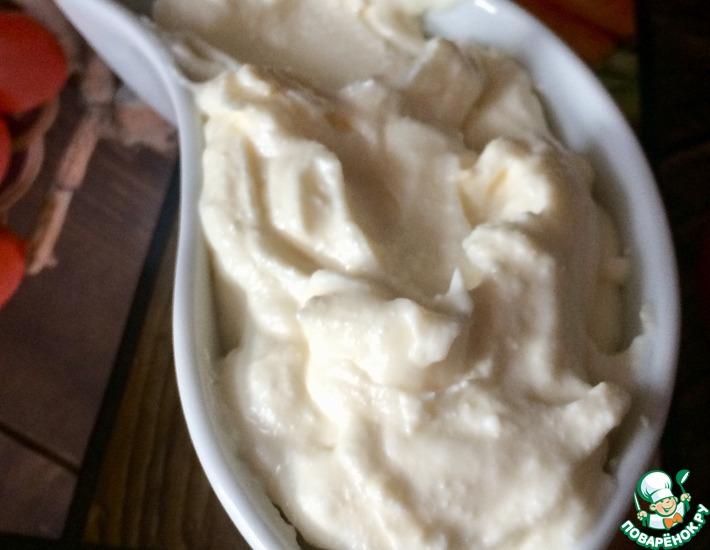 Рецепт: Десерт творожно-ванильный