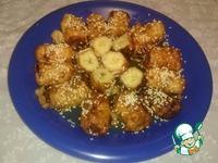 Бананы с медом ингредиенты