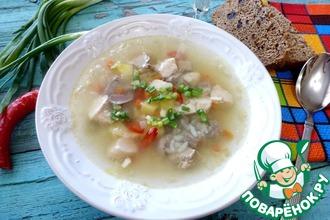 Рецепт: Суп с потрохами