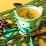 Быстрый сырный суп с кускусом