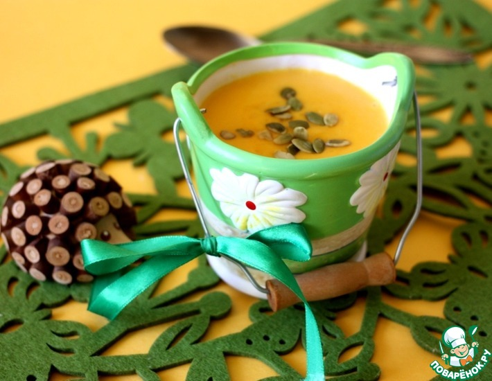 Рецепт: Быстрый сырный суп с кускусом