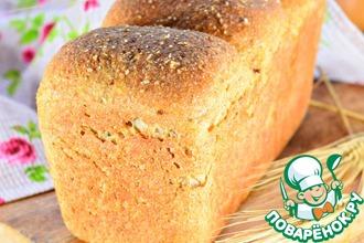 Рецепт: Хлеб пшенично-ржаной с отрубями