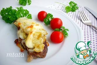 Рецепт: Мясо по-московски