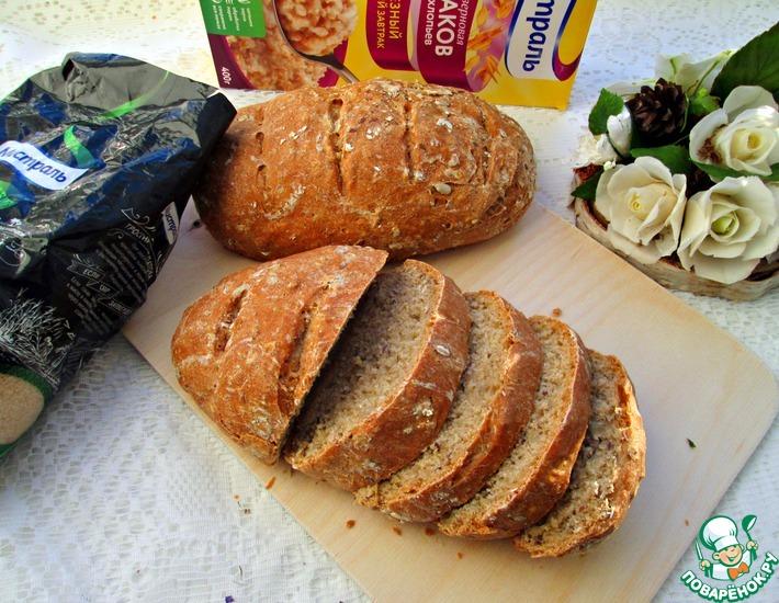 Рецепт: Постный зерновой хлеб