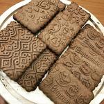 Узорчатые имбирные печенья