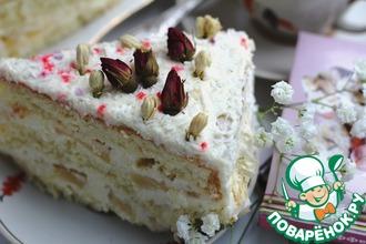 Рецепт: Бисквитный торт Пина Колада