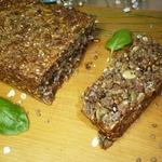 Хлеб из семян, гречки и геркулеса