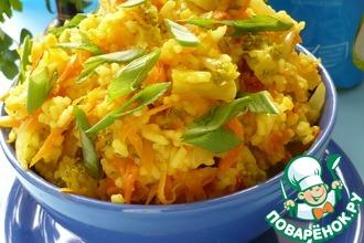 Рецепт: Морковный рис
