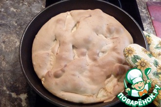 Рецепт: Шарлотка с грецким орехом
