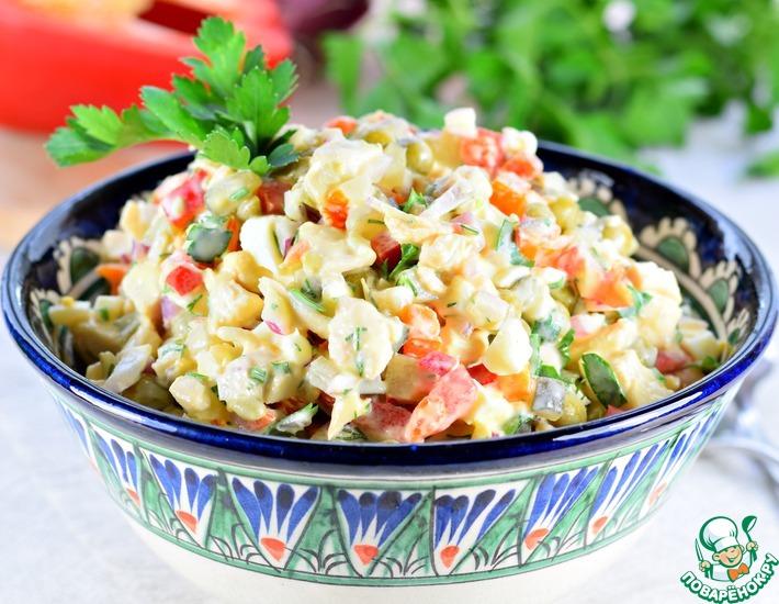 Рецепт: Салат Не хуже оливье