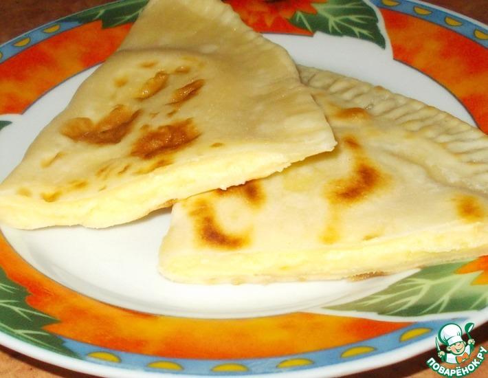 Рецепт: Чуду с картофельным пюре и сыром
