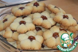 Рецепт: Печенье Курабье по-хатайски