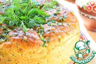 Рецепт: Гороховый булочник с луком