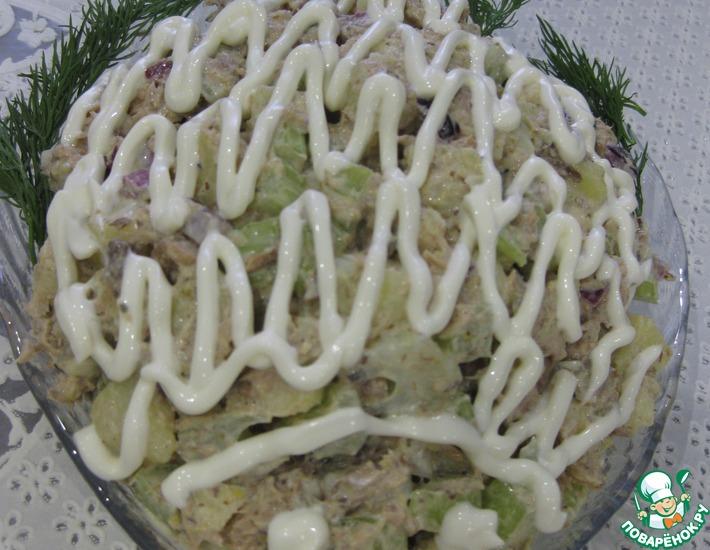 Рецепт: Картофельный салат по-американски