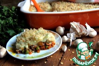 Рецепт: Вегетарианская пастушья запеканка от Джейми Оливера