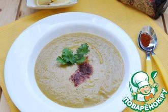 Рецепт: Палестинский суп из чечевицы и тыквы