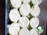 Кабачки запеченые под сыром ингредиенты