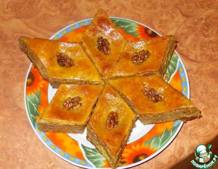 Рецепт: Пахлава бакинская от Алиевых