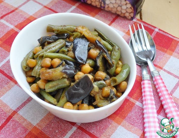 Рецепт: Овощное карри с нутом