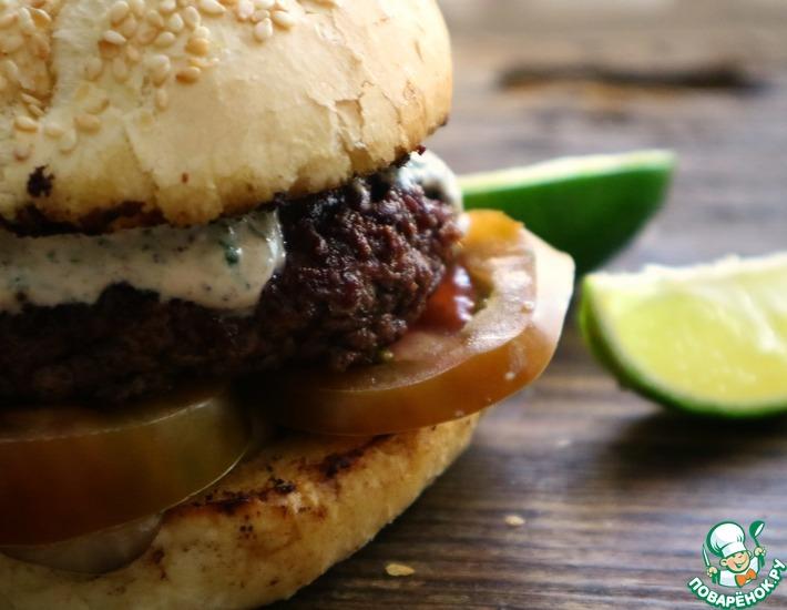 Рецепт: Превосходный чизбургер по-домашнему
