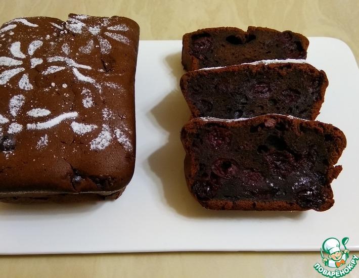 Рецепт: Шоколадный кекс на растительном масле