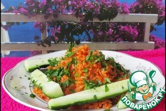 Рецепт: Мексиканский семейный рис