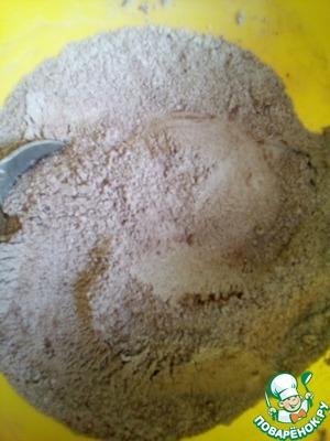 Постный шоколадно-кофейный пирог рецепт с фото   Волшебная Eда.ру