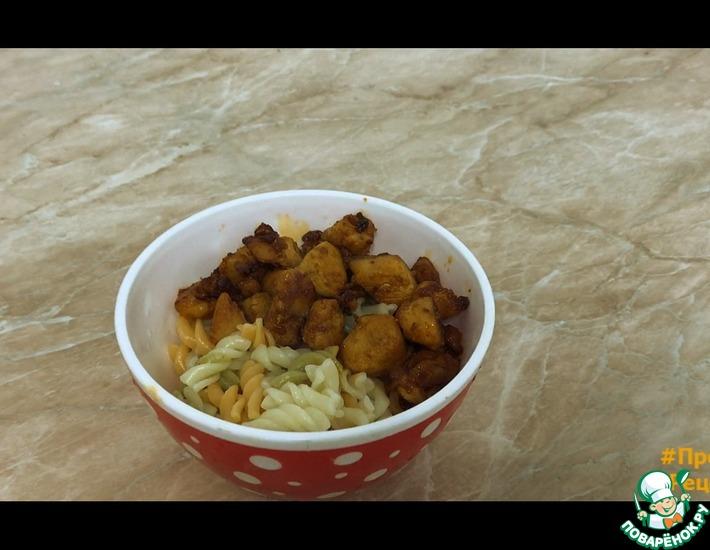 Рецепт: Куриное филе в соевом соусе