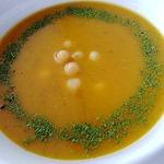 Тыквенный суп с нутом и чечевицей