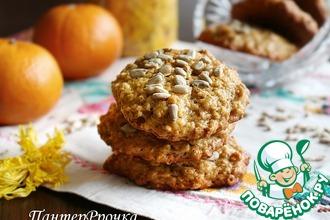 Рецепт: Мягкое овсяно-ржаное печенье Ароматное