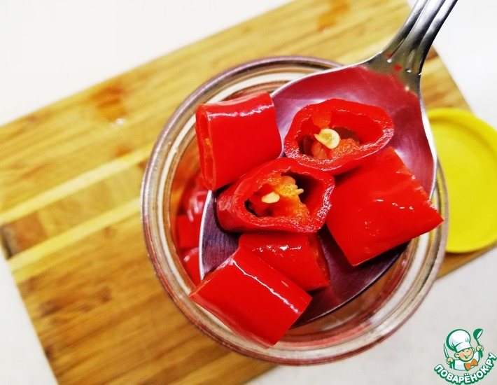 Рецепт: Маринованный перец чили