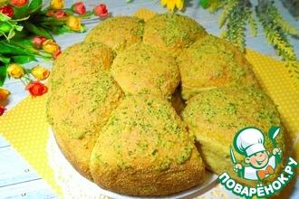 Рецепт: Овсяно-тыквенные булочки с соусом
