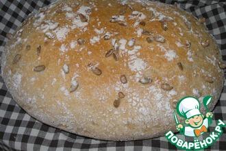 Рецепт: Рисово-пшеничный хлеб